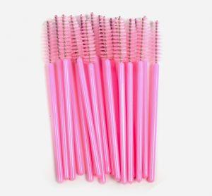 Szempillakefe - rózsaszín 20db